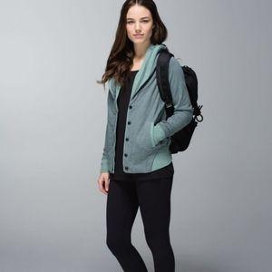 Lululemon   to class jacket earl grey sz 12